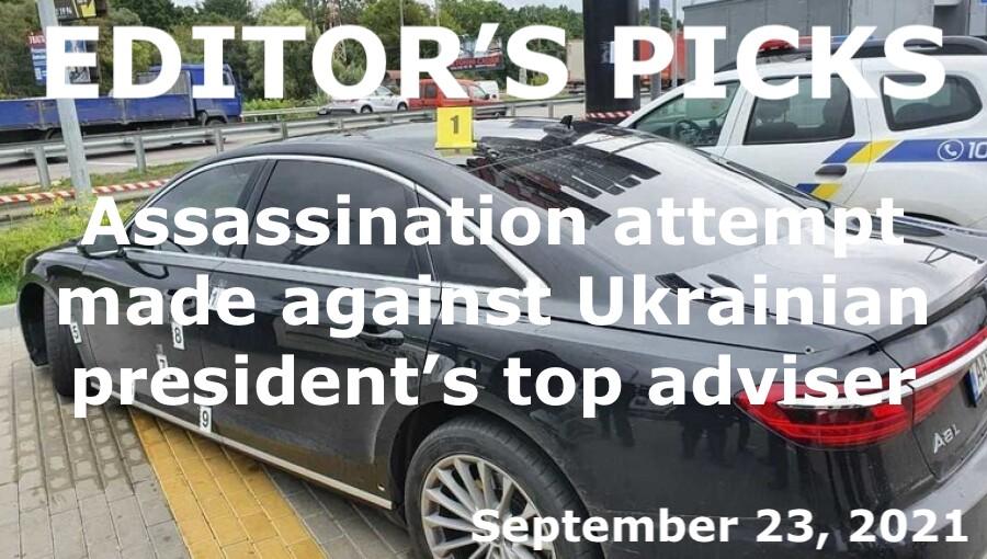 bne IntelliNews Editor's Picks --  Assassination attempt made against Ukrainian president's top adviser