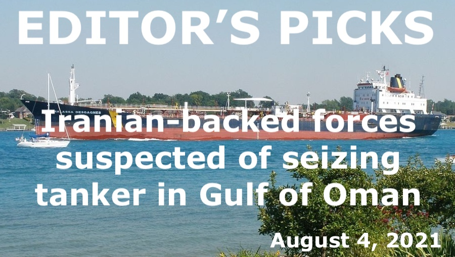 bne IntelliNews Editor's Picks – Iranian-backed forces suspected of seizing tanker in Gulf of Oman