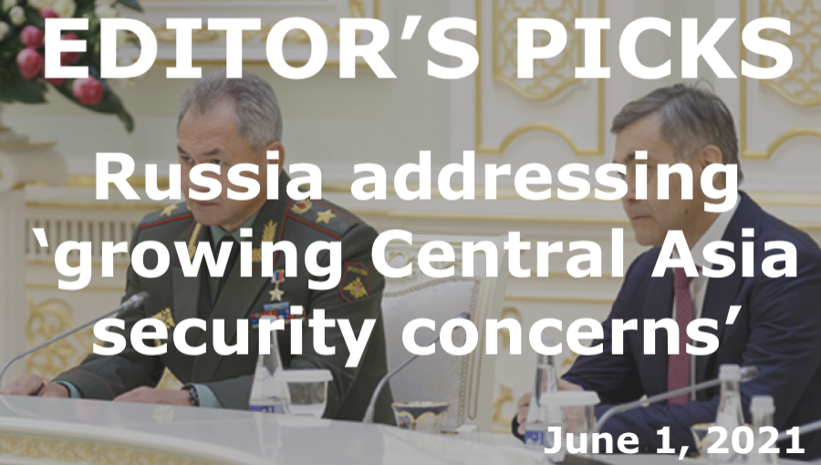 bne IntelliNews Editor's Picks --  Russia addressing 'growing Central Asia security concerns'