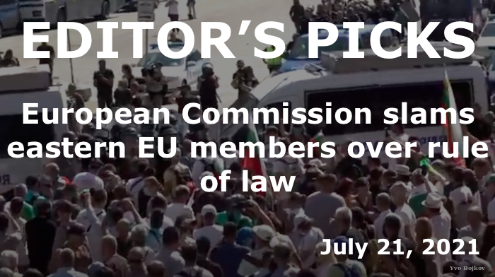 European Commission rule of law reports