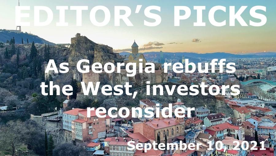 bne IntelliNews -- Editor's Picks -- As Georgia rebuffs the West, investors reconsider