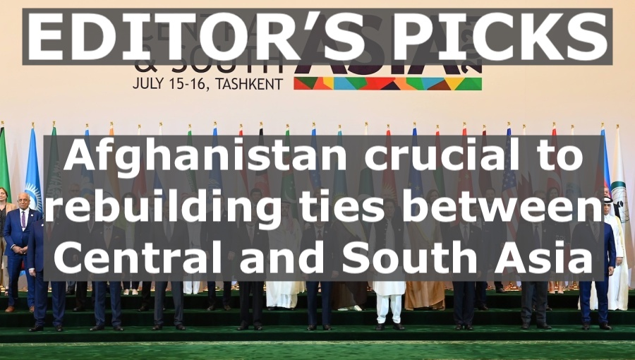 bne IntelliNews Editor's Picks --  Afghanistan crucial to rebuilding ties between Central and South Asia
