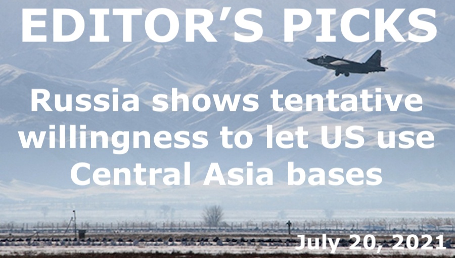 bne IntelliNews Editor's Picks --  Russia shows tentative willingness to let US use Central Asia bases
