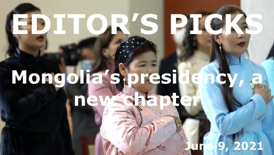 bne IntelliNews Editor's Picks – Mongolia's presidency, a new chapter