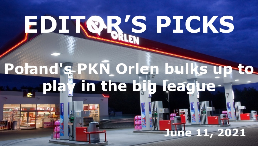 bne IntelliNews Editor's Picks – Poland's PKN Orlen bulks up to play in the big league