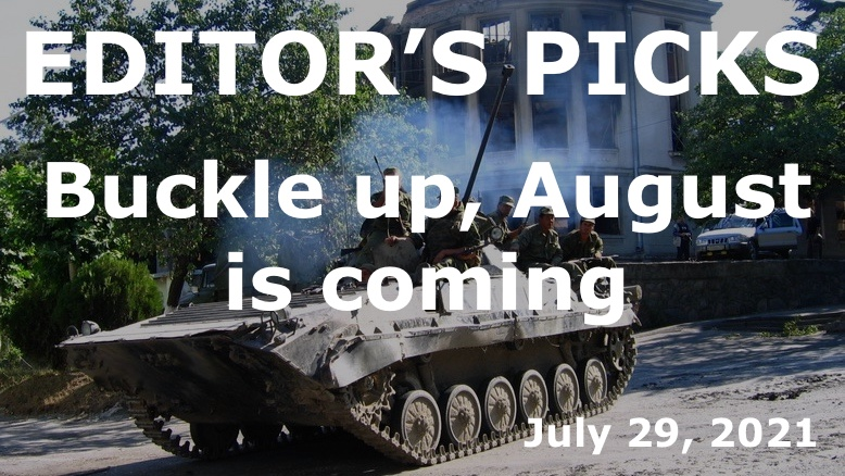 Buckle up, August is coming