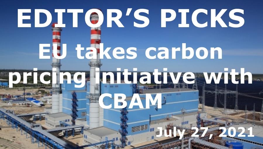 EU takes carbon pricing initative with CBAM