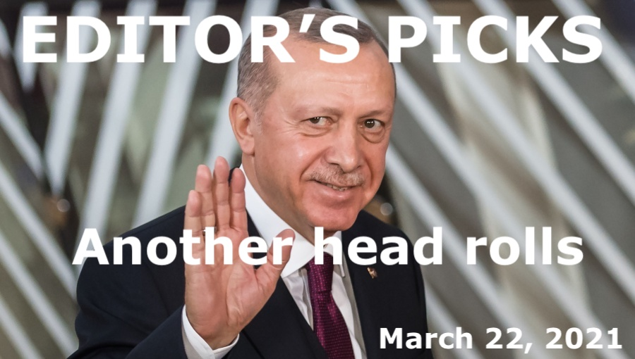 bne IntelliNews Editor's Picks --  BEYOND THE BOSPORUS: Another Turkish central bank governor head rolls