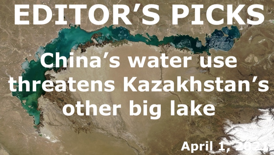 bne IntelliNews Editor's Picks --  China's water use threatens Kazakhstan's other big lake