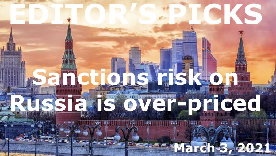 bne IntelliNews Editor's Picks --  Sanctions risk on Russia is over-priced