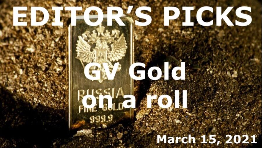bne IntelliNews Editor's Picks --  GV Gold on a roll