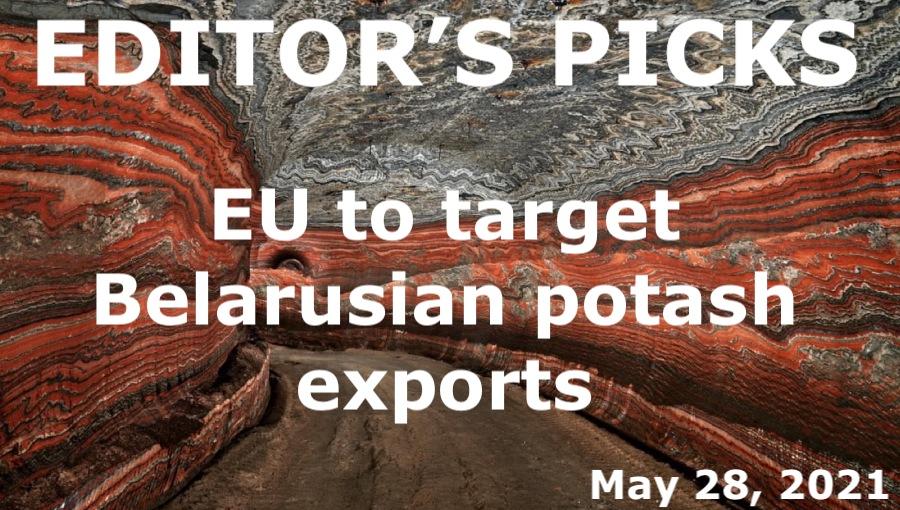 bne IntelliNews Editor's Picks --  EU to target Belarusian potash exports