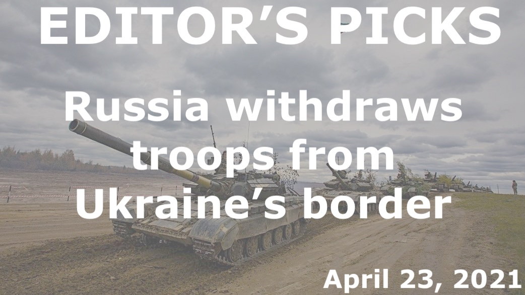 bne IntelliNews Editor's Picks --  Russia withdraws troops from Ukraine's border