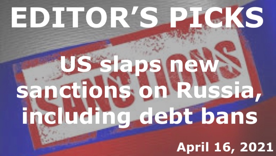 bne IntelliNews Editor's Picks --  US slaps new sanctions on Russia, including debt bans