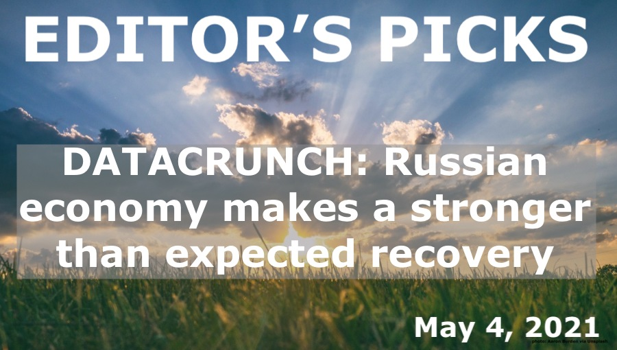 bne IntelliNews Editor's Picks --  DATACRUNCH: Russian economy makes a stronger than expected recovery