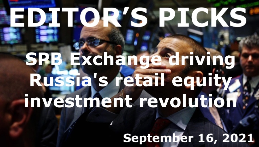 bne IntelliNews Editor's Picks --  SPB Exchange driving Russia's retail equity investment revolution