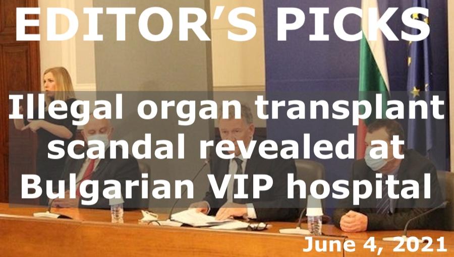 bne IntelliNews Editor's Picks --  Illegal organ transplant scandal revealed at Bulgarian VIP hospital