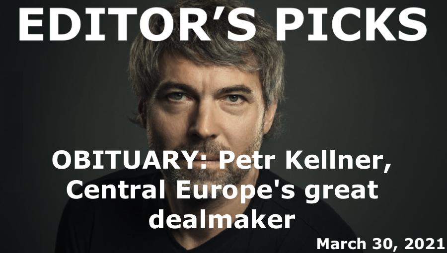 bne IntelliNews Editor's Picks --  OBITUARY: Petr Kellner, Central Europe's great dealmaker