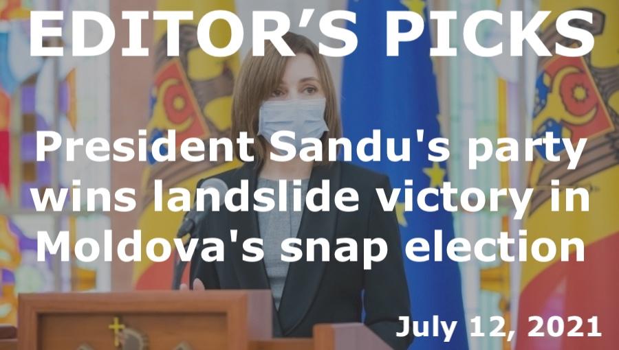 bne IntelliNews Editor's Picks --  President Sandu's party wins landslide victory in Moldova's snap election