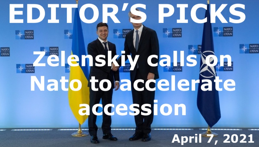 bne IntelliNews Editor's Picks --  Ukraine's Zelenskiy calls on NATO to accelerate its accession