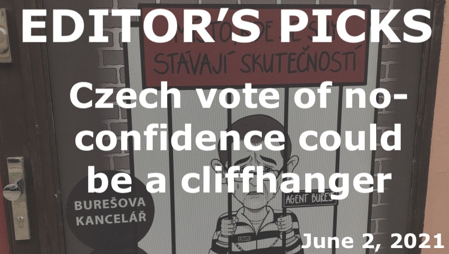 bne IntelliNews Editor's Picks --  Czech vote of no-confidence could be a cliffhanger