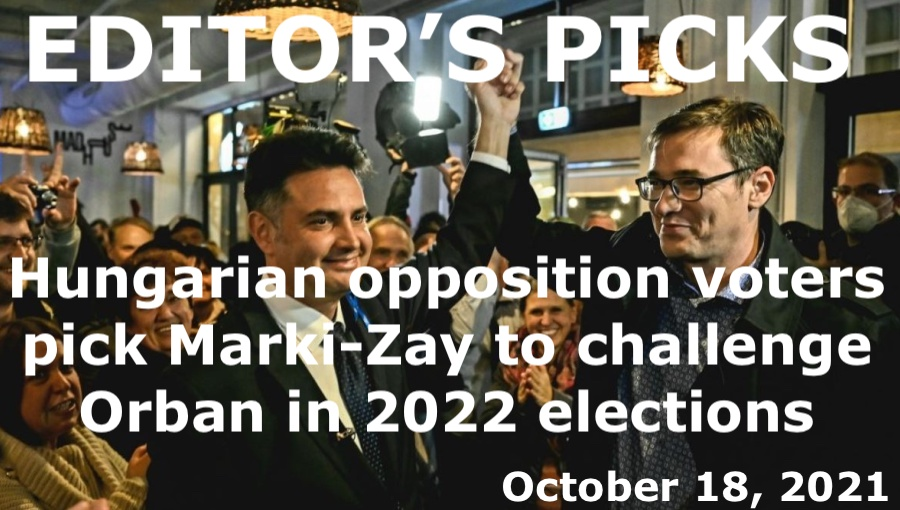 bne IntelliNews Editor's Picks – Hungarian opposition voters pick Marki-Zay to challenge Orban in 2022 elections