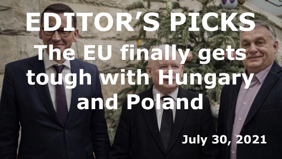 The EU finally gets tough with Hungary and Poland