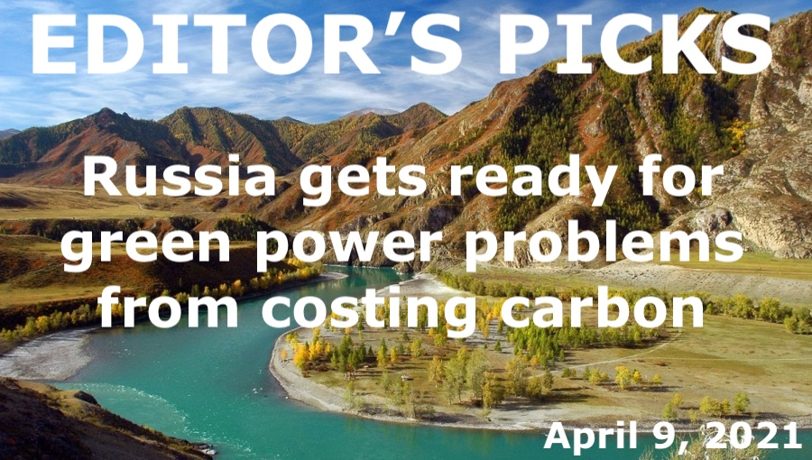 bne IntelliNews Editor's Picks --  Russia gets ready for green power and problems from costing carbon
